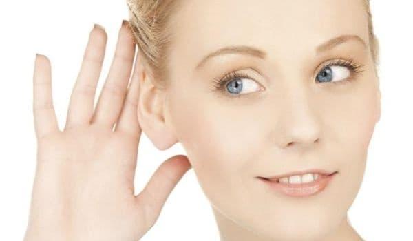 Хранене при отслабване на слуха - изображение