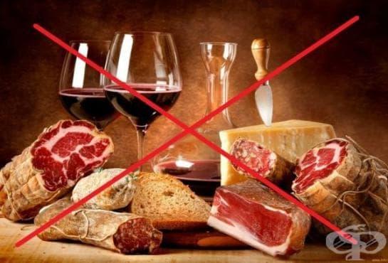 Хранене при висцеларна подагра - изображение