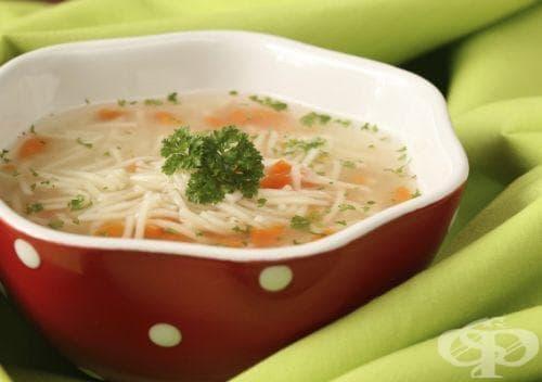 Хранене при простуда - изображение