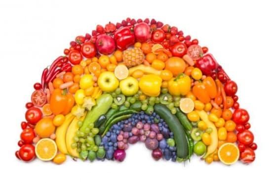 Как да отслабнем и да бъдем здрави, следвайки цветовете на храните - изображение