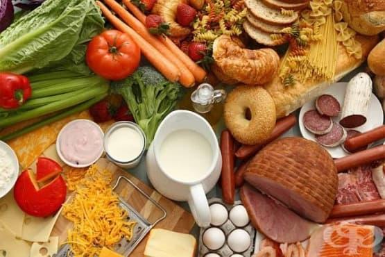 Храните, които образуват подуване на корема и газове - изображение