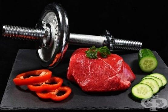 Примерно меню и хранителни комбинации за увеличаване на мускулната маса при жени - изображение