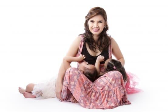 Тандемно кърмене - кърмене на бебе и малко дете - изображение