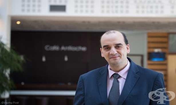 Д-р Константинос Фарсалинос: Употребата на електронните цигари може да представлява революция в намаляването на вредата от тютюнопушенето - изображение