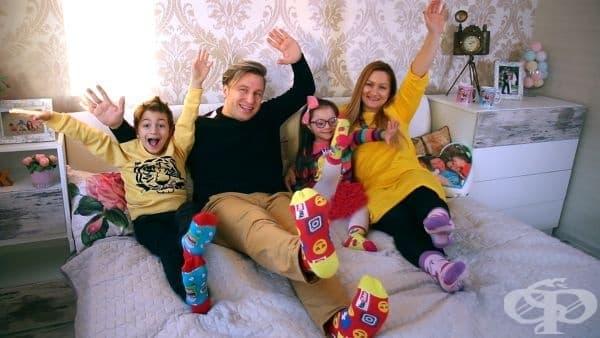 Живот със синдром на Даун или как едно семейство показва другата гледна точка за различните деца - изображение