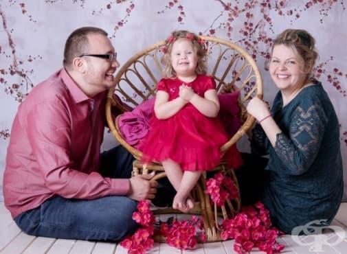 Вяра със Синдром на Даун - за вярата и щастието да си родител на слънчево дете - изображение