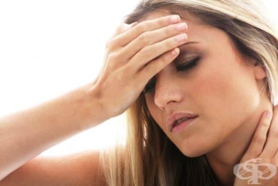 Синусно, риногенно главоболие или мигрена - изображение