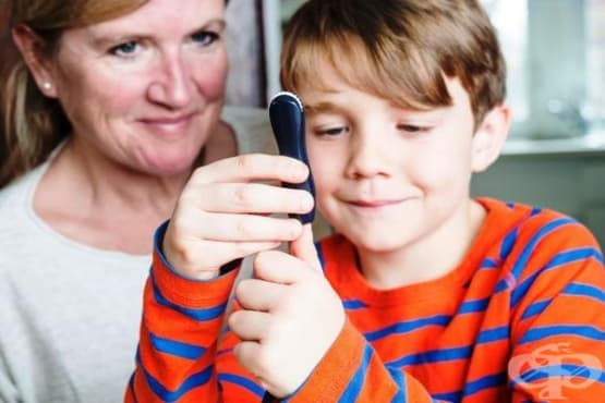 Захарен диабет при деца и юноши - изображение