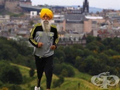101-годишен маратонец се отказва от спорта, но... не съвсем - изображение