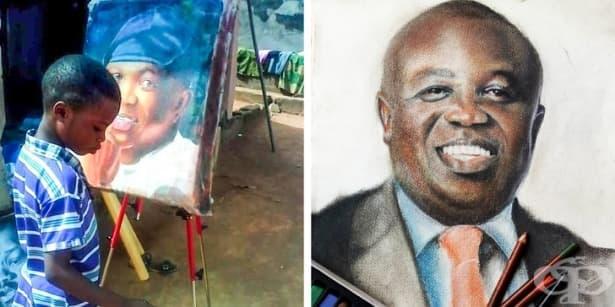 11-годишно момче рисува хиперреалистични картини, които ще ви изумят - изображение