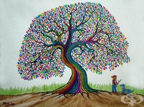 Притча за дървото, което винаги дава плод - изображение