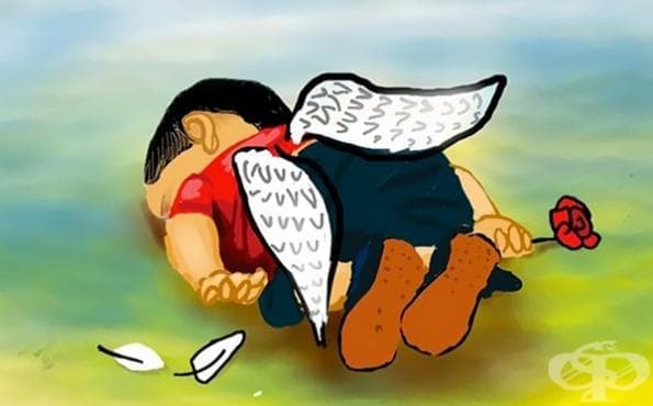 Артисти от цял свят показват съпричастност към трагичната смърт на 3-годишния сирийски бежанец - изображение