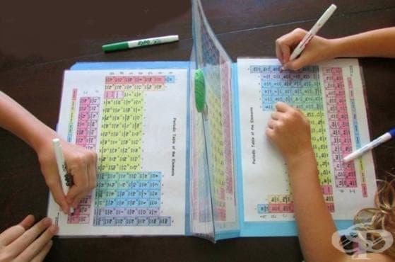 Майка измисля интересен и забавен начин, чрез който децата й да учат химия - изображение