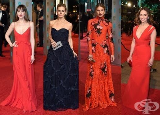 Най-добре облечените звезди на наградите БАФТА 2016 - изображение