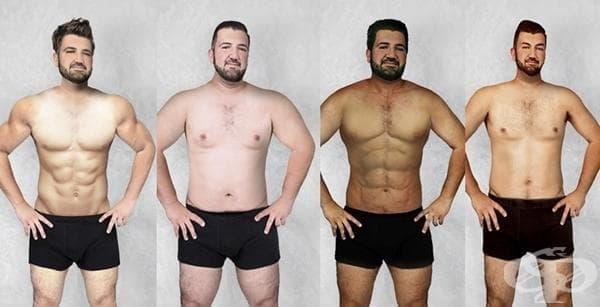 Този мъж иска тялото му да бъде обработено според предпочитанията за мъже в различните страни - изображение