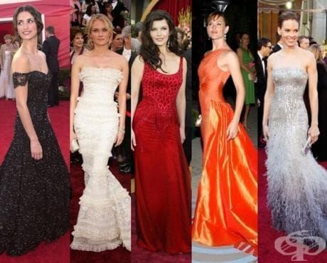 24 зашеметяващи рокли от Оскарите, за които най-вероятно сте забравили - изображение