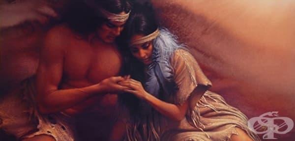 Индианска притча за вечната любов - изображение