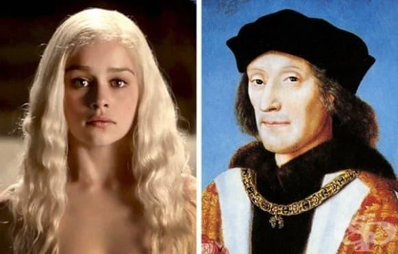 """10 реални исторически личности, вдъхновили герои в """"Игра на тронове"""" - изображение"""