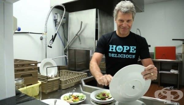 Кухня за душата – благотворителният проект на Бон Джоуви - изображение