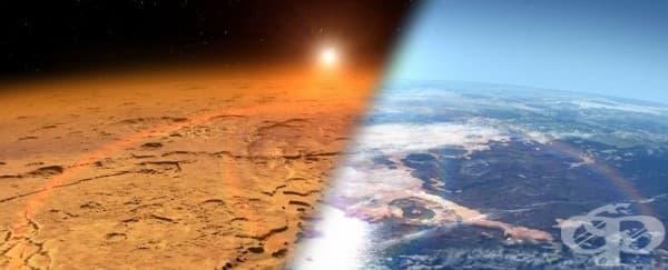 НАСА планира да създаде гигантски магнитен щит и да направи  Марс обитаем - изображение