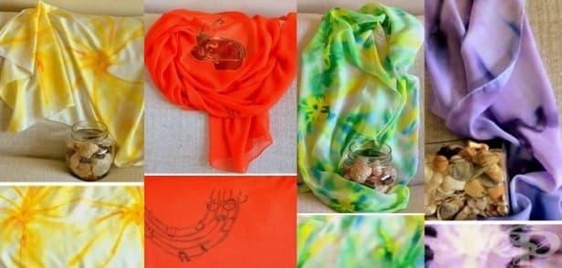 Ръчно изработените копринени шалове на Елена Хаджигенова – нежна феерия от цветове и страст - изображение