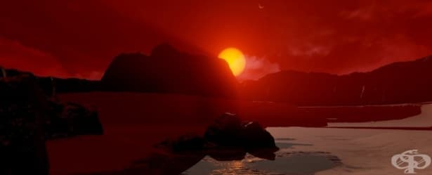 Учените откриха първите доказателства, че в системата Трапист-1 може би има вода - изображение