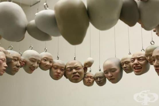 Зловещи сюрреалистични скулптури - изображение