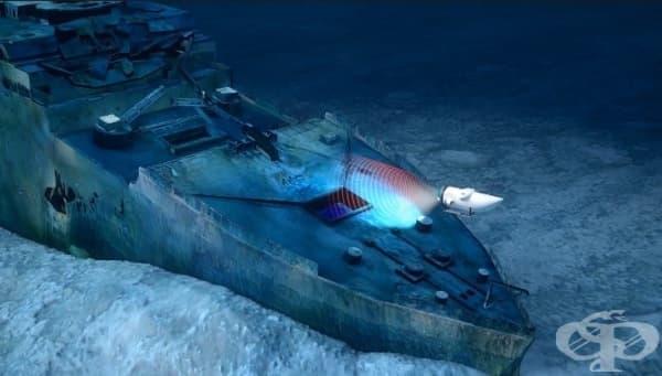 През 2019 година  - експедиция  до останките на Титаник - изображение