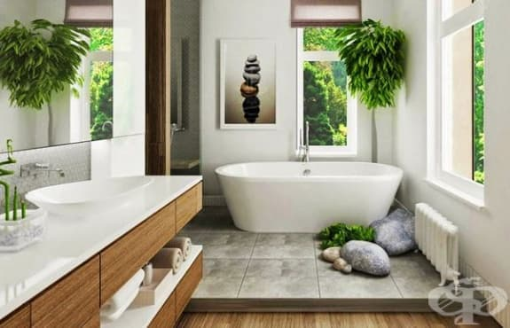 Подредете банята, спазвайки законите на фъншуй - изображение