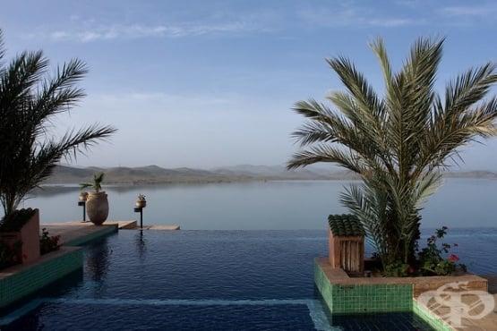 Най-красивите инфинити (безкрайни) басейни в света - изображение