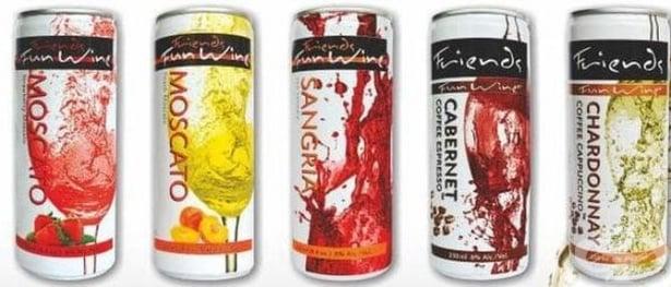 Fun Wine™ - иновативна напитка, съчетаваща вкусовете на виното и кафето в кен - изображение