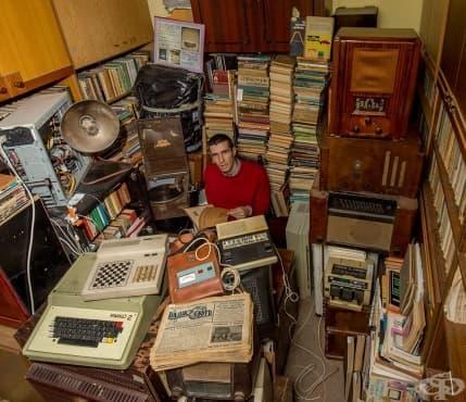 Антон Оруш - изследовател и колекционер на стара българска техника - интервю - изображение