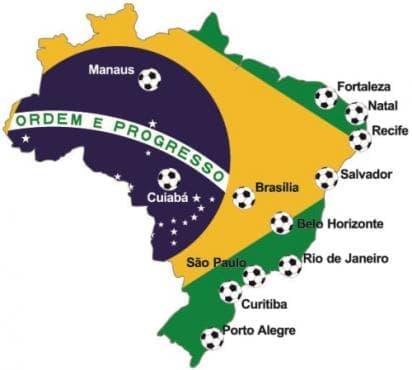 Опознайте отблизо 12-те бразилски града, домакинстващи Световното първенство по футбол FIFA World Cup Brazil 2014 (Част 1) - изображение