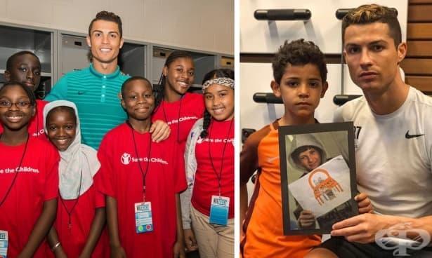 С какво се занимава Кристиано Роналдо извън футбола - изображение