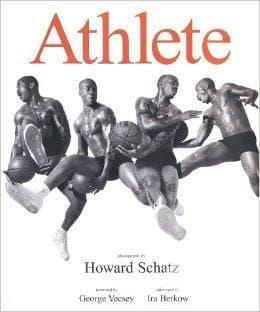 За красотата на човешкото тяло, скулптурирано от спорта, във фото книгата Athlete на Хауърд Шатц - изображение
