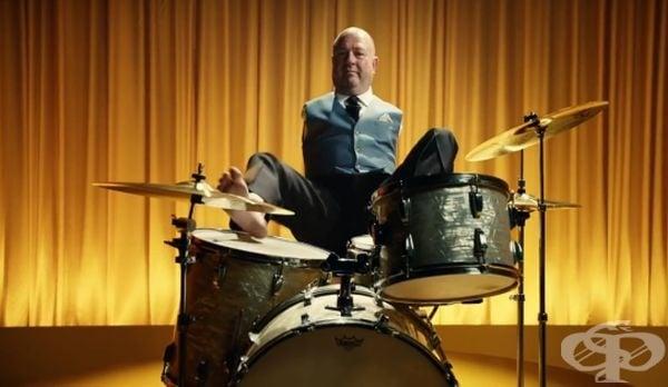 Алвин  Лоу – барабанистът без ръце - изображение