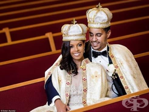 И заживели щастливо: Американка срещна своя принц в нощен клуб и се омъжи за него - изображение