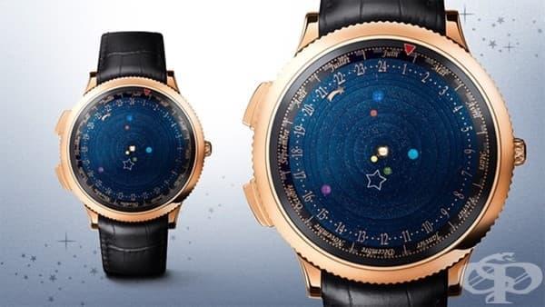 Зашеметяващи часовници, които показват орбитите на планетите в реално време - изображение