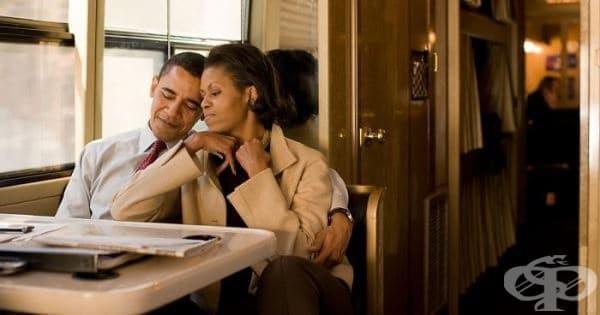Барак Обама към съпругата си: Ти си единствена по рода си, Мишел Обама - изображение