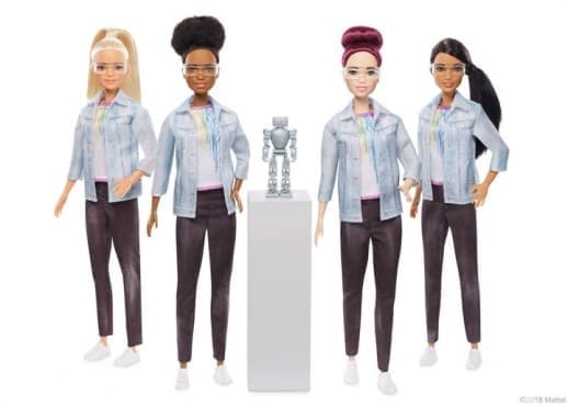 Барби в ново амплоа – инженер по роботика - изображение