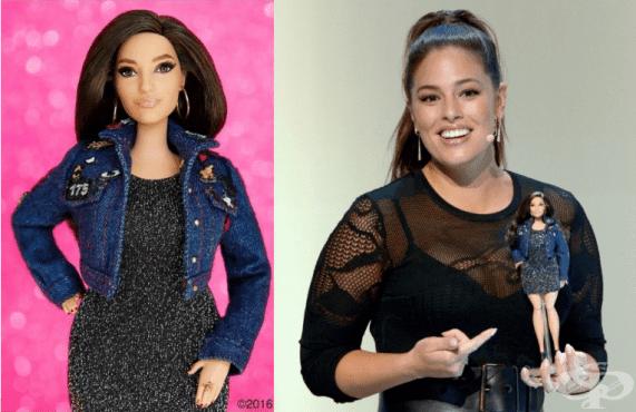 Създадоха Барби, вдъхновена от модел с пухкаво тяло - изображение
