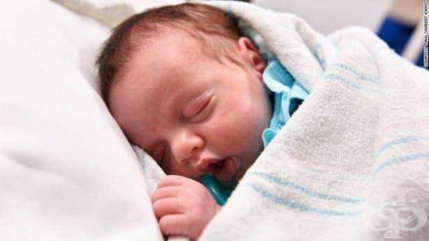 Запознайте се с бебето чудо, Линлий, което буквално се ражда два пъти - изображение