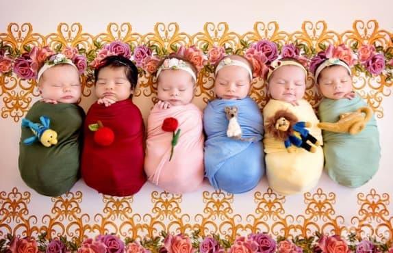Приказно: Фотограф превърна шест новородени в принцеси на Дисни - изображение