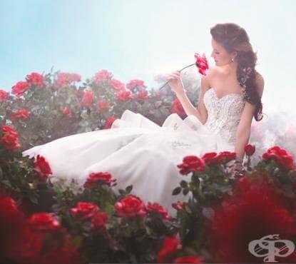 Най-невероятните сватбени рокли, вдъхновени от приказки - изображение