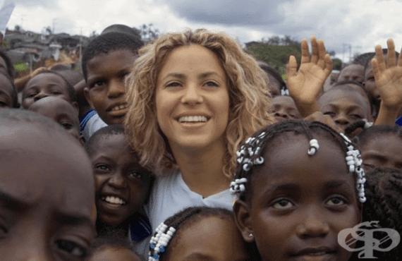 Шакира помага на стотици деца в Южна Америка, благодарение на нейната фондация - изображение