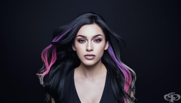 """Променящата се боя за коса """"Pravana"""": научен експеримент върху косата ви - изображение"""