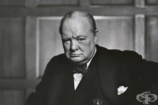 Аферата на сър Уинстън Чърчил - изображение