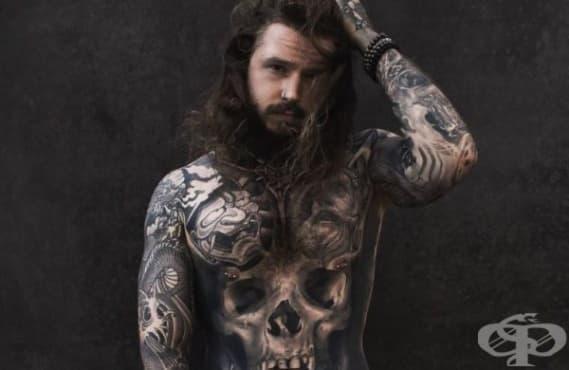 Екстремно отслабване, белези и татуировки – пътят към самоувереността и самоуважението на Кевин Крийкман - изображение