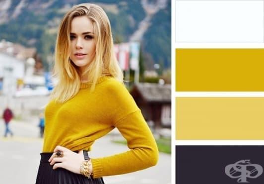 10 класически цветови комбинации, с които ще изглеждате перфектно - изображение