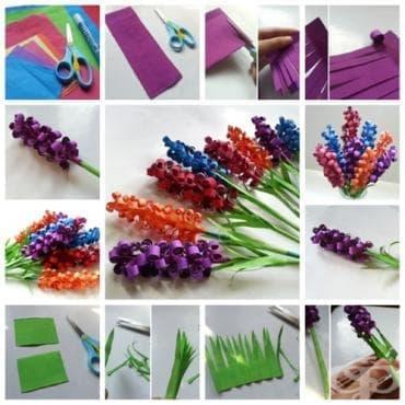 Как да си направим красив букет от хартиени зюбмюли - оригами (снимки) - изображение